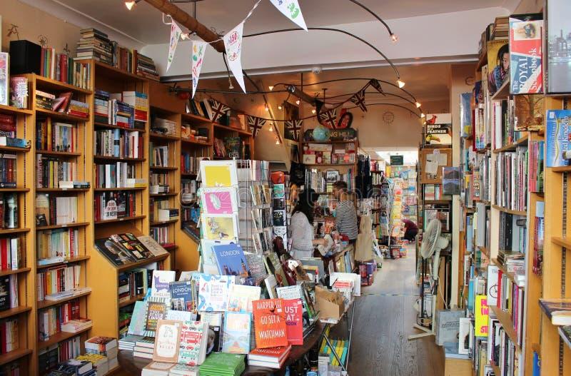 La librairie de Notting Hill image stock
