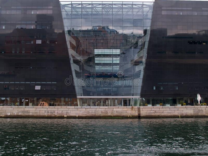 La libreria reale di Copenhaghen Danimarca immagine stock