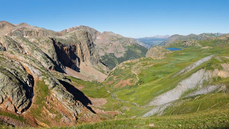 La ligne de partage des eaux dans le Colorado, Etats-Unis image stock