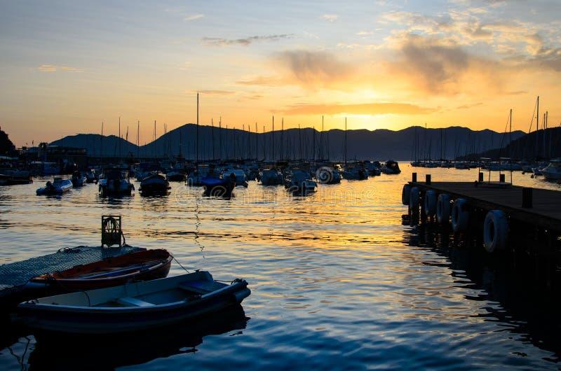 La Liguria fotografie stock