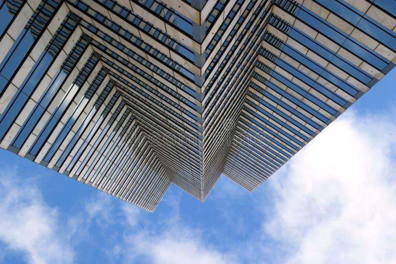 La limite du ciel photographie stock