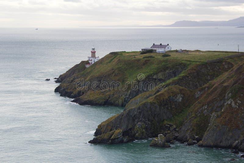 La linea costiera irlandese fotografia stock