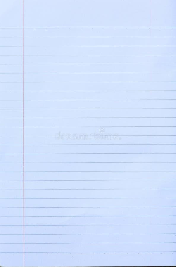 La linea quadrata bianca strato della carta isoalated su bianco fotografia stock libera da diritti