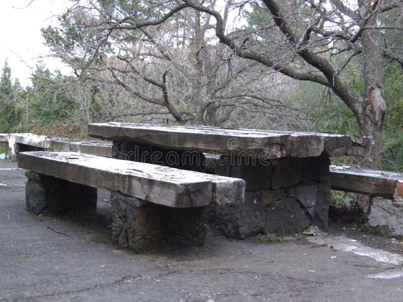 La Linguaglossa-Etna-Volcan-Sicile-Italie - terrains communaux créatifs par le gnuckx image libre de droits