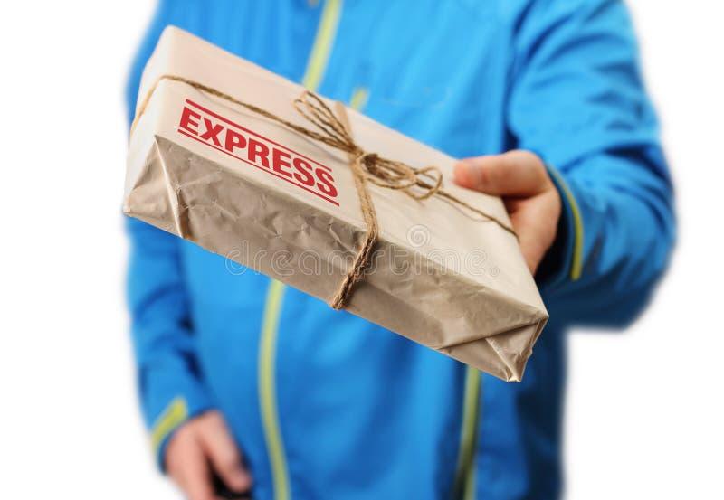 La livraison express de courrier images stock
