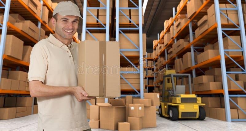 La livraison k d'entrepôt images libres de droits