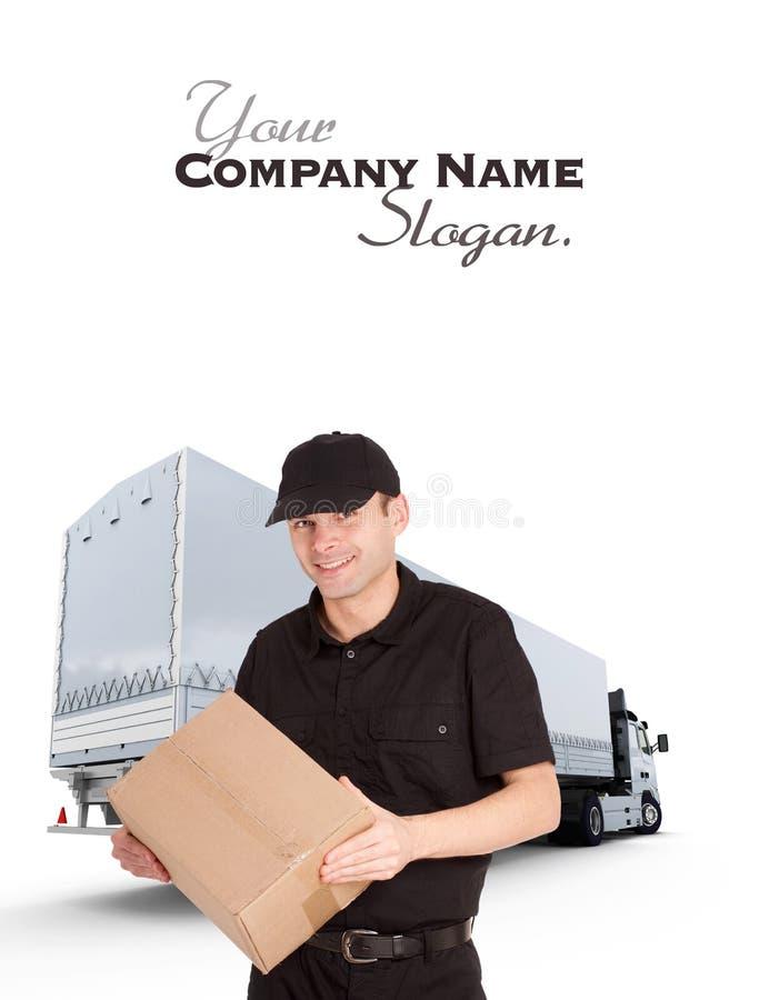 La livraison professionnelle photos stock