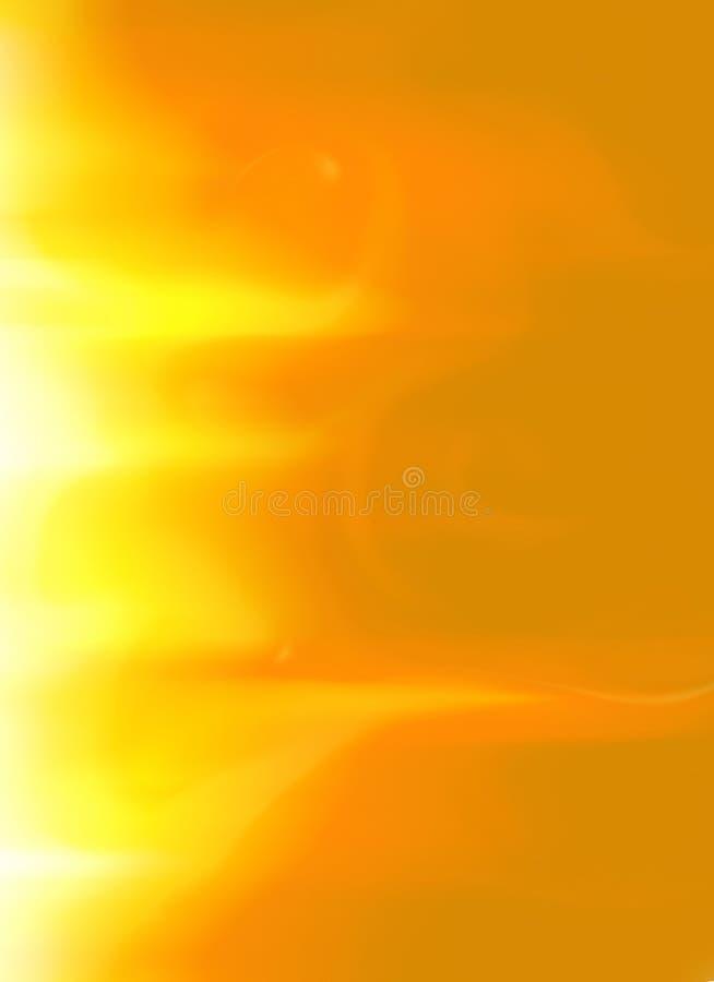 La llamarada solar de Sun del oro amarillo flamea la opción 6 del fondo imagen de archivo