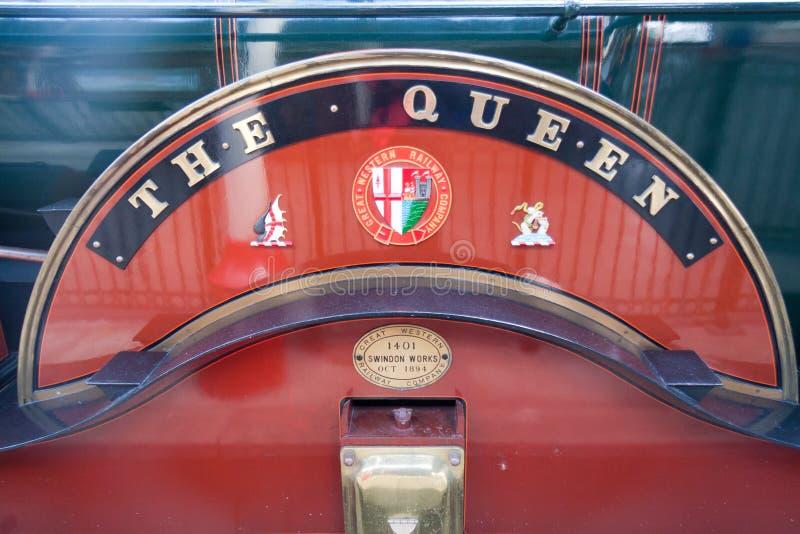 La locomotiva della società ferroviaria di Great Western immagini stock