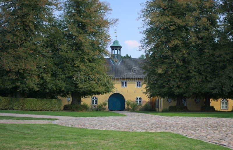 La loge du portier - I - Jersbek - l'Allemagne photos stock