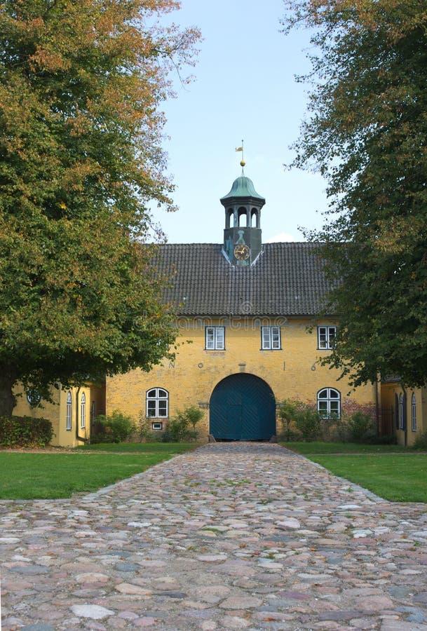 La loge du portier - III - Jersbek - l'Allemagne photo stock
