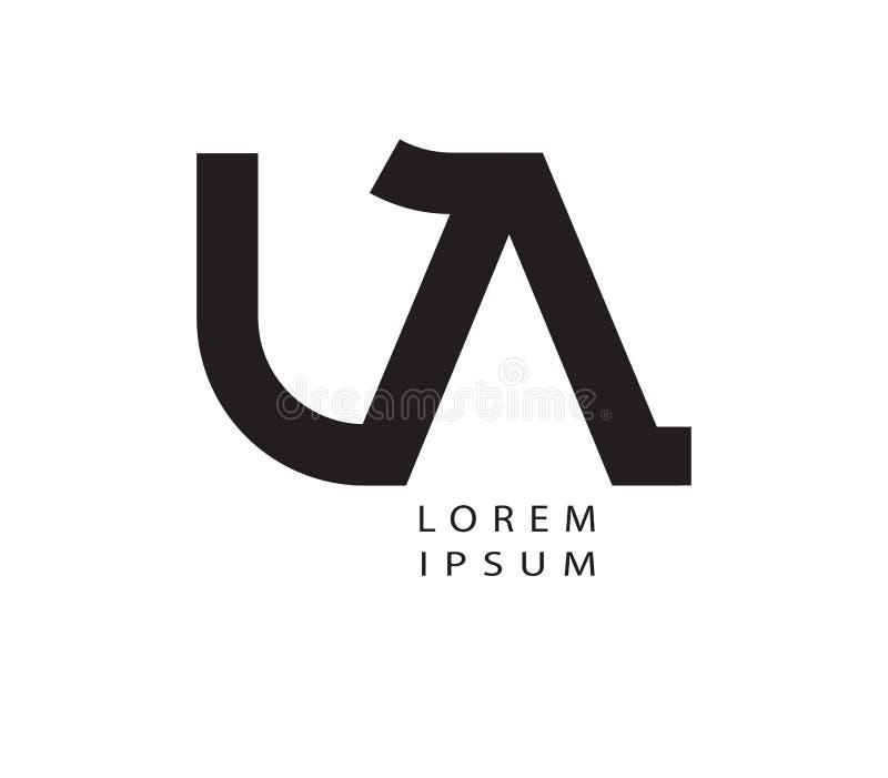 Download LA Logo Design Stock Vector - Image: 83704540