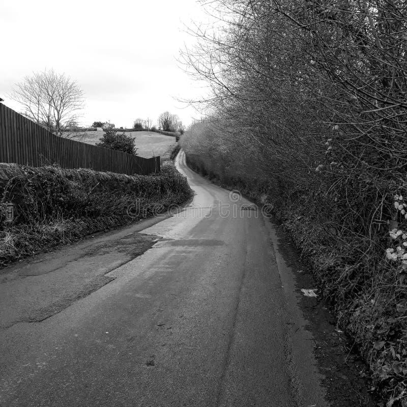 La longue ruelle images stock