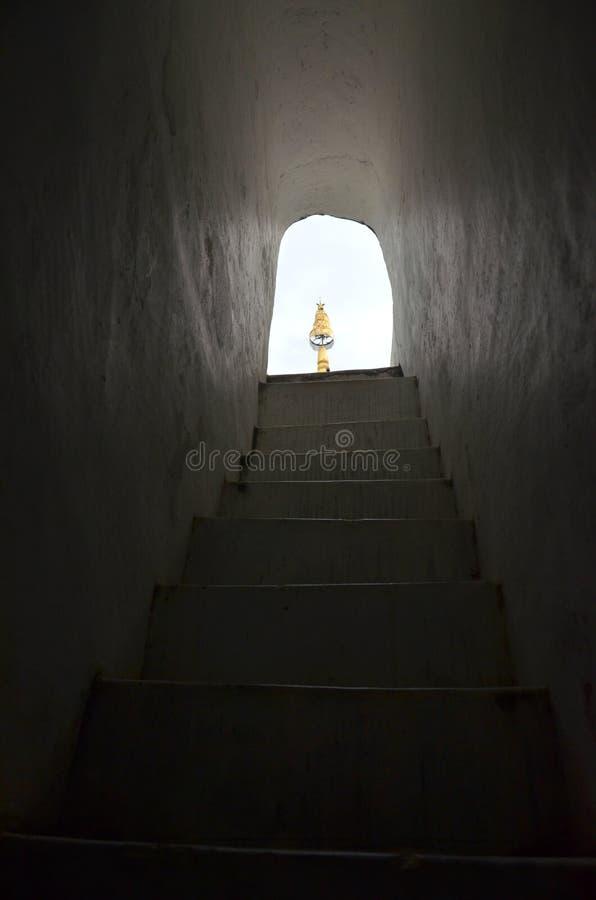 La luce del Dhamma fotografie stock libere da diritti