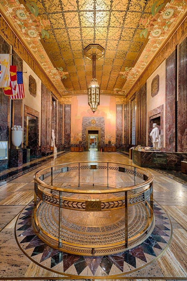 La Luisiana Memorial Hall immagine stock libera da diritti