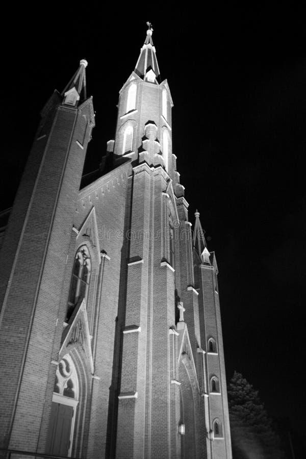 La lumière d'église images stock