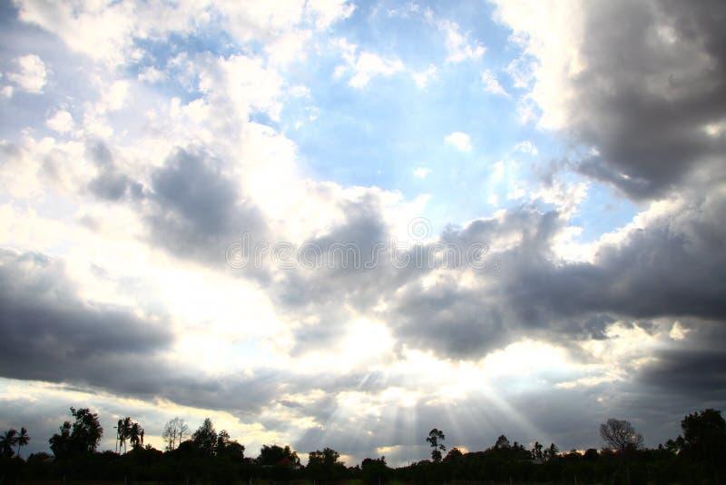 La lumière du soleil photo libre de droits