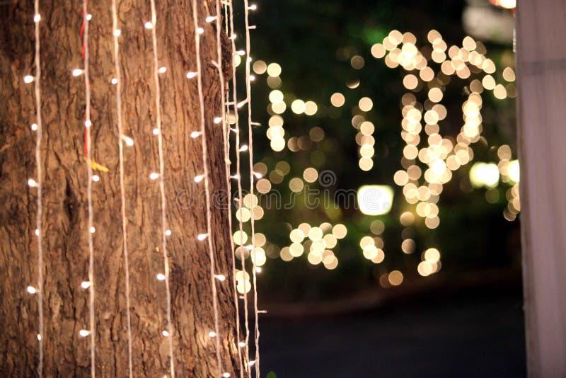 La lumière fait à étoile la puissance du lence photos libres de droits