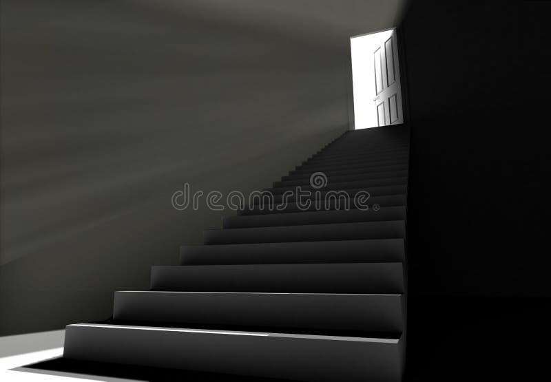 la lumière voient illustration stock