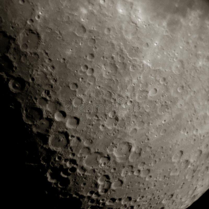 La luna fotografía de archivo libre de regalías