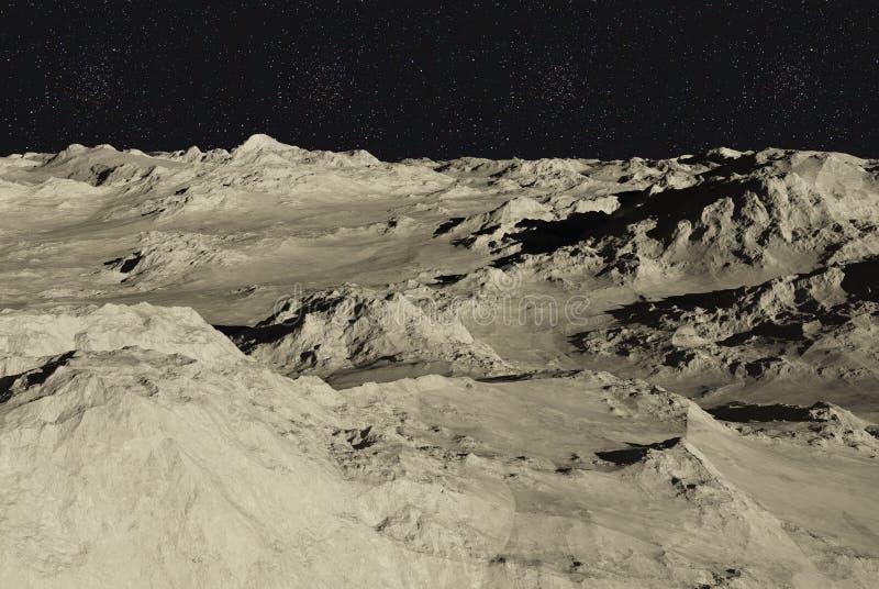 La luna ilustración del vector