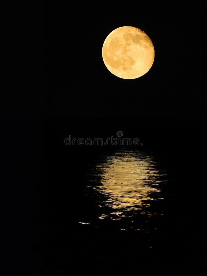 La luna imagen de archivo