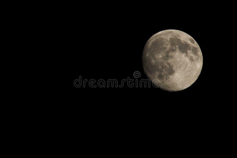 La luna fotografía de archivo