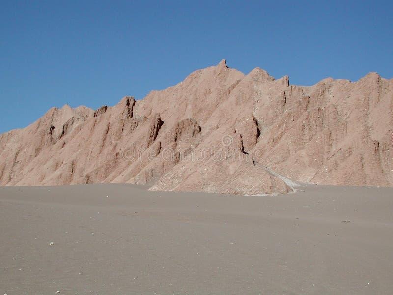 La Luna, Atacama, Chili de Valle De photos stock