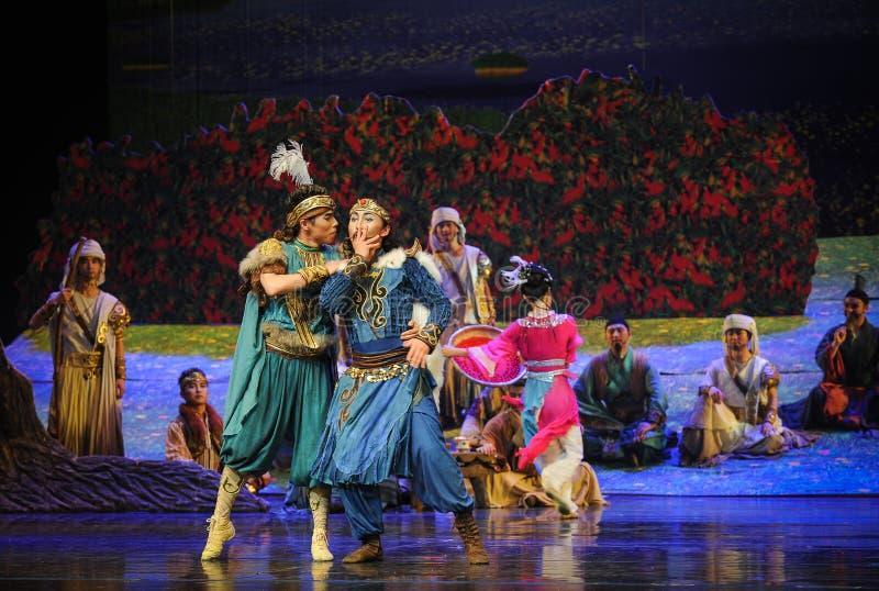 La luna di balletto di dibattito-Hui sopra Helan immagini stock libere da diritti