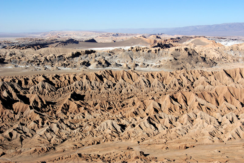 la luna valle Чили de стоковая фотография