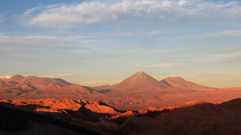 La Luna, valle de la luna, desierto de Atacama Chile de Valle de fotografía de archivo libre de regalías