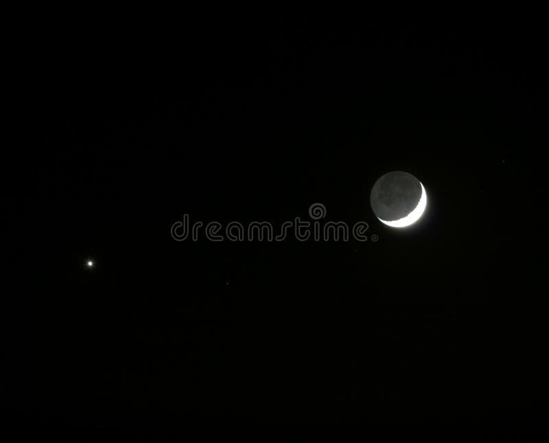 La luna y el planeta venus se encuentra en el cielo for En 1761 se descubrio la de venus