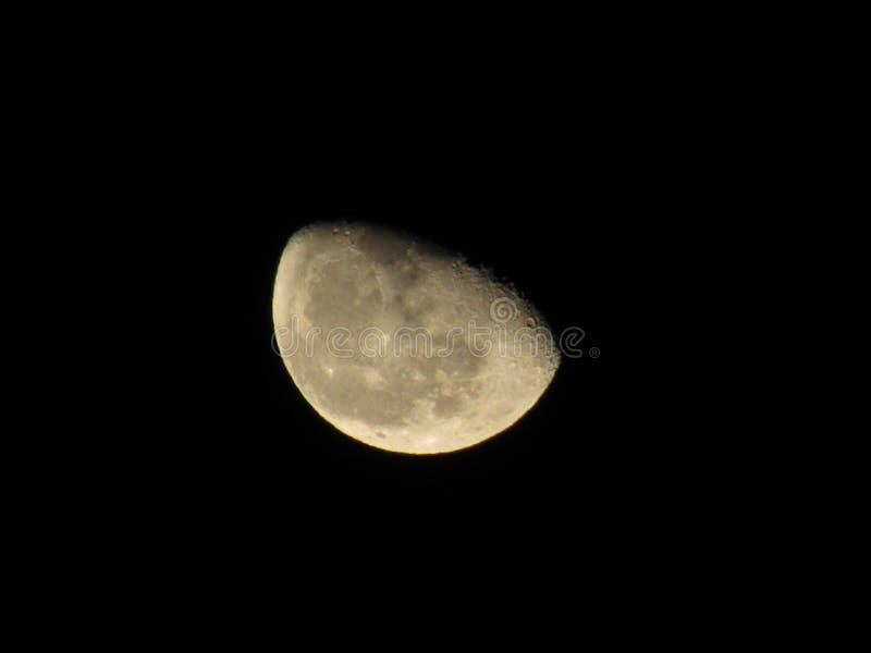 La lune étonnante photo libre de droits