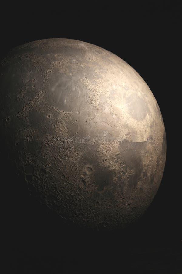 La lune photo libre de droits