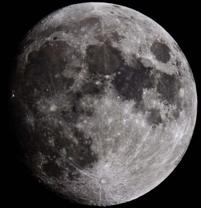 La lune image libre de droits