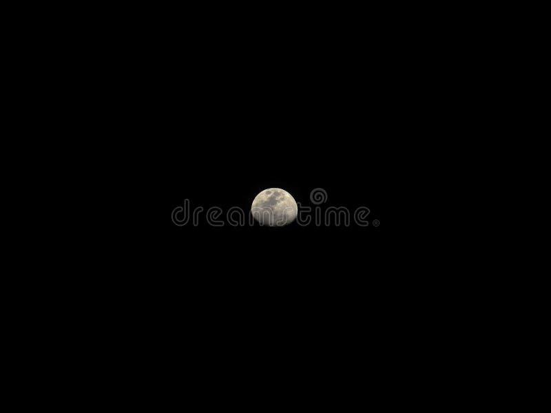 La lune tombe endormi images stock