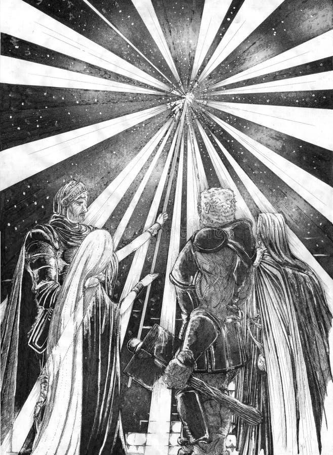 La luz ilustración del vector