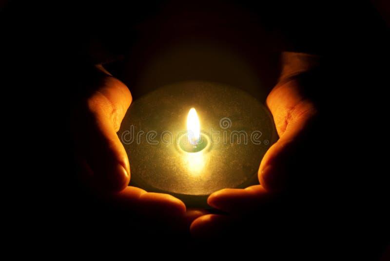 La luz de la fe fotos de archivo
