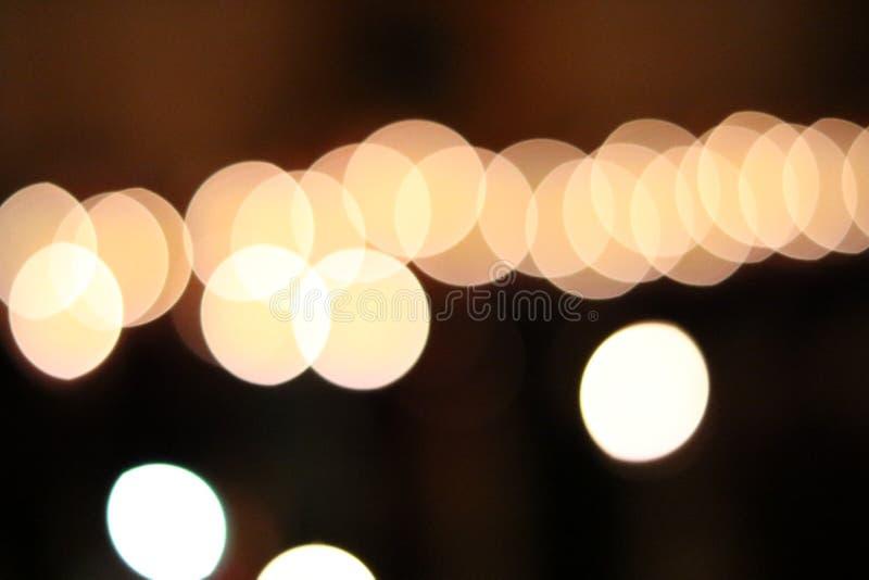 La luz del bokeh fotos de archivo libres de regalías