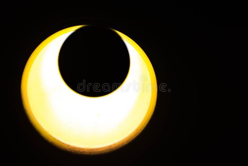 La luz le gusta la luna fotografía de archivo