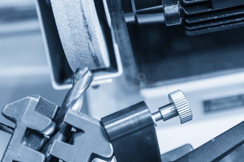 La máquina de los sacapuntas de la herramienta de perforación imagen de archivo libre de regalías