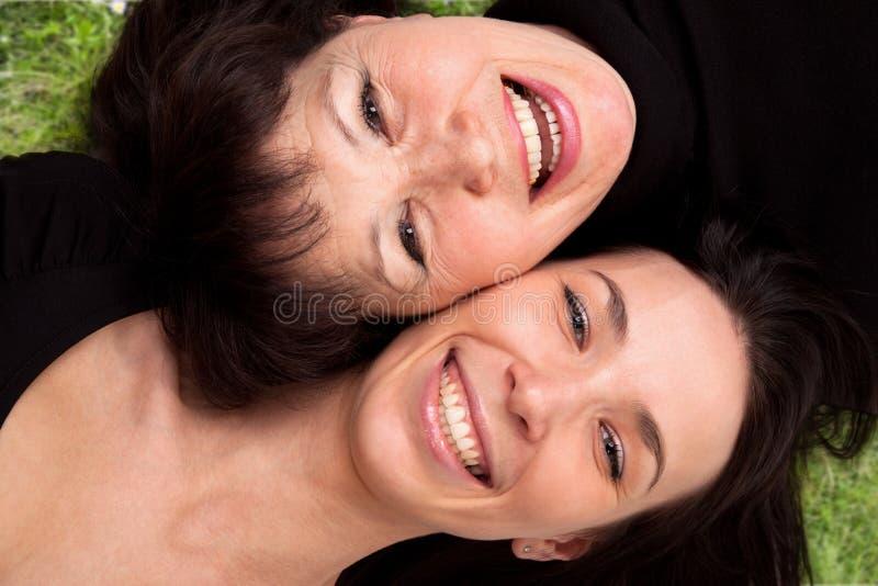 La mère et le descendant photographie stock