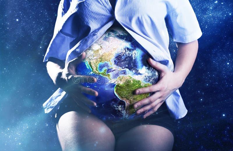 La Mère-terre photo libre de droits