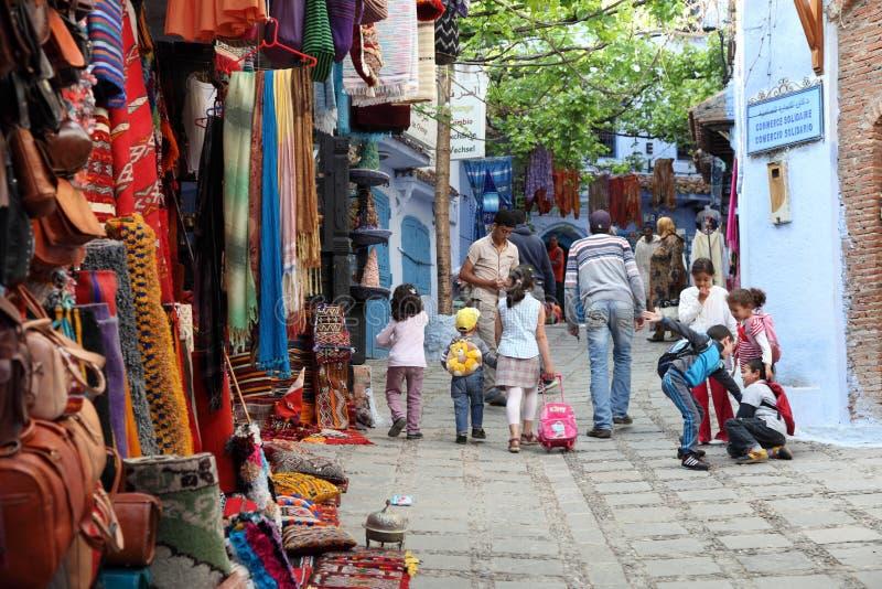 La Médina de Chefchaouen, Maroc photographie stock libre de droits