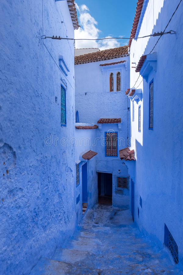 La Médina de Chefchaouen, Maroc photos stock