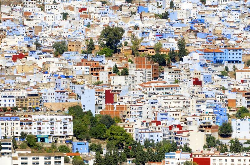 La Médina de Chefchaouen, Maroc image libre de droits