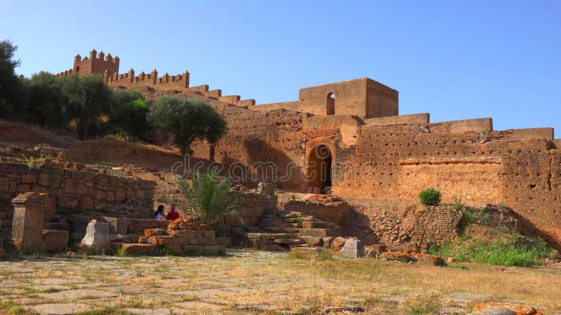 La Médina historique de la ville de Rabat, Maroc images stock