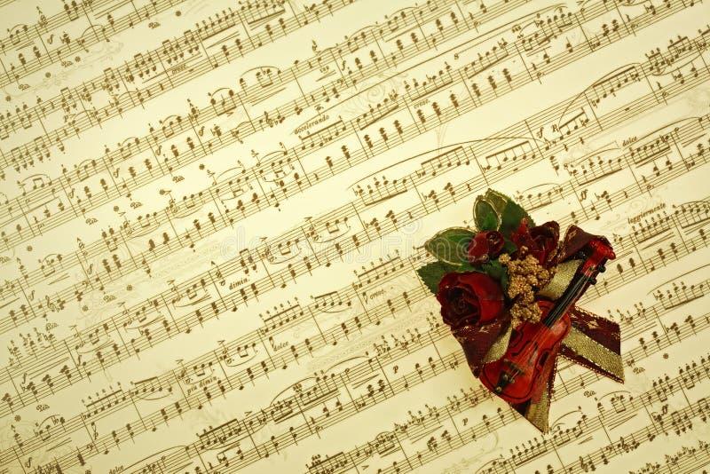 La música observa el fondo fotografía de archivo