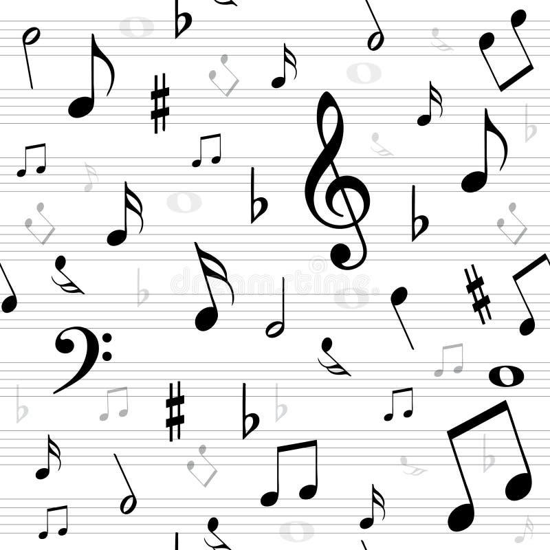La música observa inconsútil libre illustration