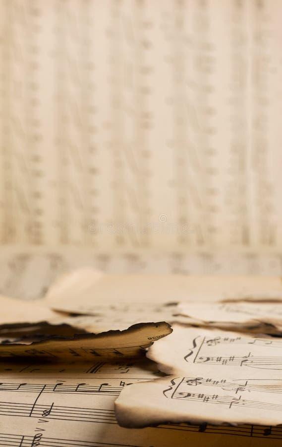 La música quemada vendimia observa el modelo foto de archivo libre de regalías